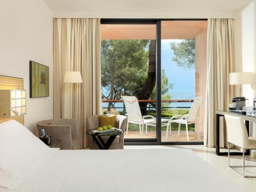 Cama o camas de una habitación en Boutique Hotel H10 Punta Negra