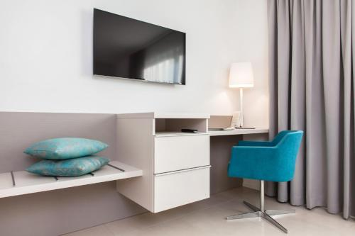 TV/Unterhaltungsangebot in der Unterkunft City Stay Furnished Apartments - Lindenstrasse