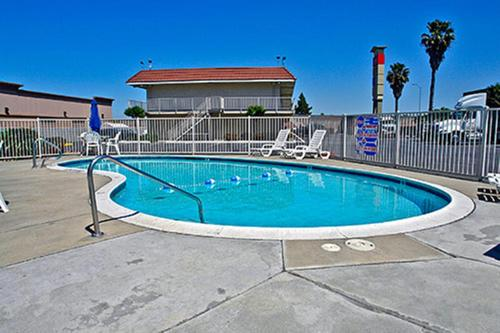 The swimming pool at or near Motel 6-West Sacramento, CA