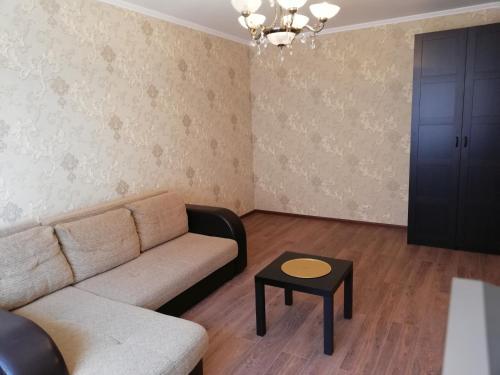 "Гостиная зона в Apartment ""Victoriya"" on Prospekt Lenina"