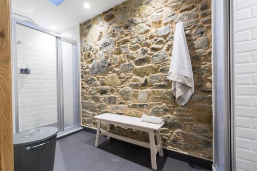 Un baño de Albergue O Candil