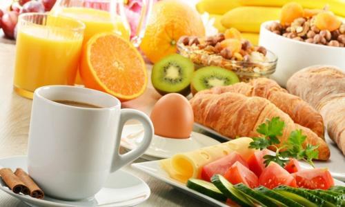 Frühstücksoptionen für Gäste der Unterkunft Op de Borgh