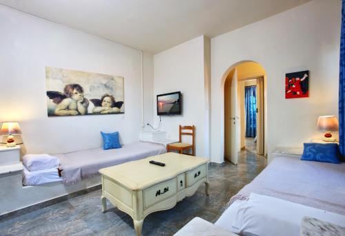 Un ou plusieurs lits dans un hébergement de l'établissement Bomo Assa Maris Beach