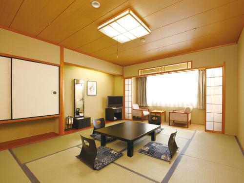 A seating area at The Kashihara