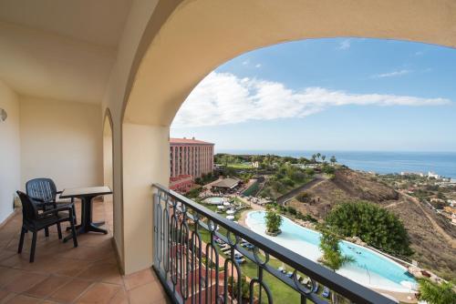 Un balcón o terraza de Hotel Las Aguilas