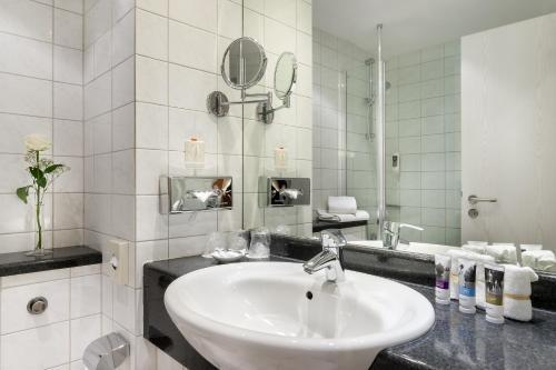 Ванная комната в Mercure Hotel Ingolstadt