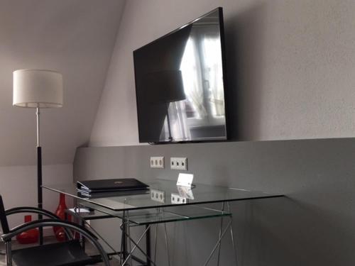 TV/Unterhaltungsangebot in der Unterkunft Das Goldene Lamm Aalen