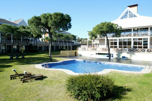 The swimming pool at or near Hotel Nuevo Portil Golf