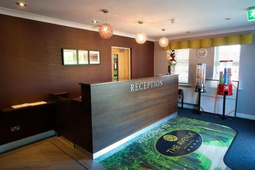 The lobby or reception area at The Avenue Hotel Ltd