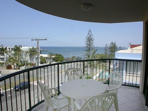 A balcony or terrace at Meridian Caloundra