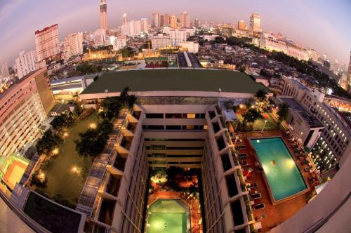 A bird's-eye view of Asia Hotel Bangkok