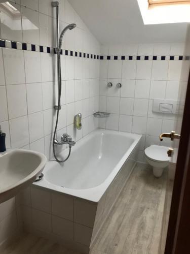 Salle de bains dans l'établissement Hotel La Bastide