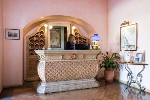 Hall o reception di Hotel Poseidonia