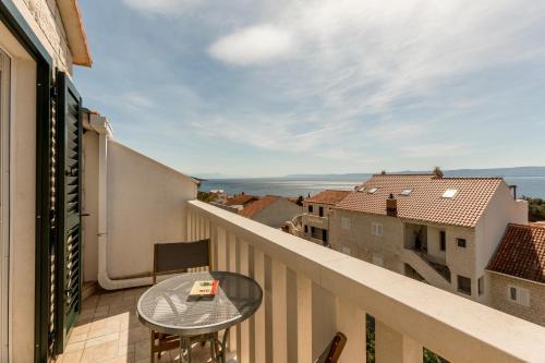 Balkón nebo terasa v ubytování Apartments Ivka Bol