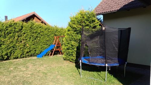 Herní místnost nebo prostor pro děti v ubytování Villa Frymburk