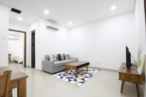 A seating area at Smile Apartment 11*