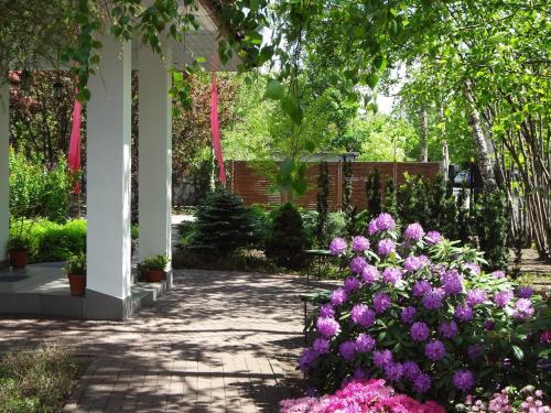 Ogród w obiekcie Hotel Flora