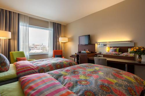 Voodi või voodid majutusasutuse Solo Sokos Hotel Estoria toas