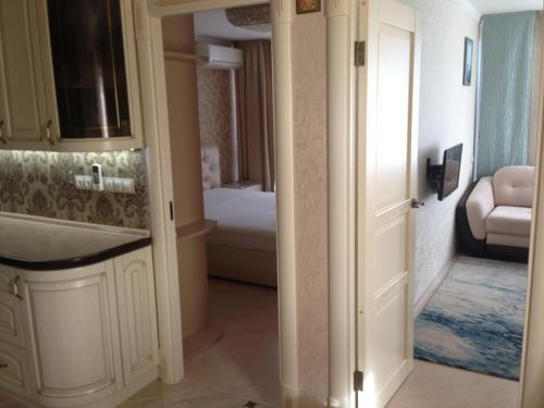 Ванная комната в Apartment Nagornaya