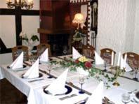 Ein Restaurant oder anderes Speiselokal in der Unterkunft Hotel Gasthof Haas