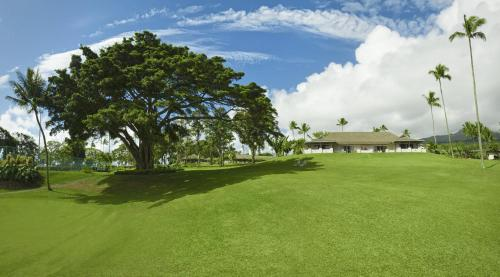 A garden outside Hana-Maui Resort, a Destination by Hyatt Residence