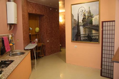 Ванная комната в Мини-Отель Солнце