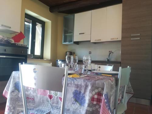 Cucina o angolo cottura di Rustico Langa Relax