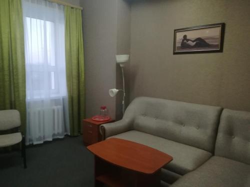 Гостиная зона в Гостиница Новый Континент