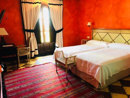 Cama o camas de una habitación en Casa Henrietta