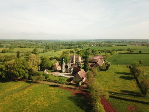 Vue panoramique sur l'établissement Château de Clusors