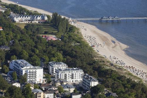 A bird's-eye view of Steigenberger Grandhotel & Spa Heringsdorf