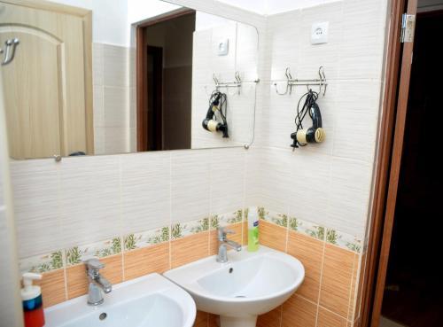 Ванна кімната в Green Street Hostel