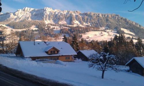 Hotel Rothorn im Winter
