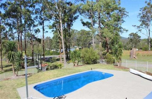 The swimming pool at or near Banyula, 103 Neville Morton Drive
