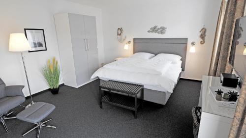 Ein Bett oder Betten in einem Zimmer der Unterkunft Westerstrasse 6
