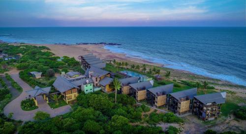 A bird's-eye view of Laya Safari Resorts & Spa
