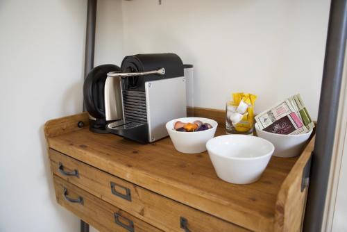 Koffie- en theefaciliteiten bij Het Torentje aan de IJssel