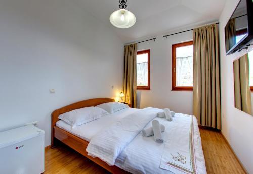 Krevet ili kreveti u jedinici u objektu Hotel Almira