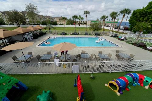 A view of the pool at Magic Moment Resort and Kids Club or nearby