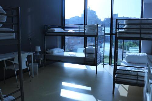 Litera o literas de una habitación en Kaps Hostel Vigo