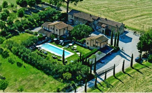 Vista aerea di Le More E I Gelsomini