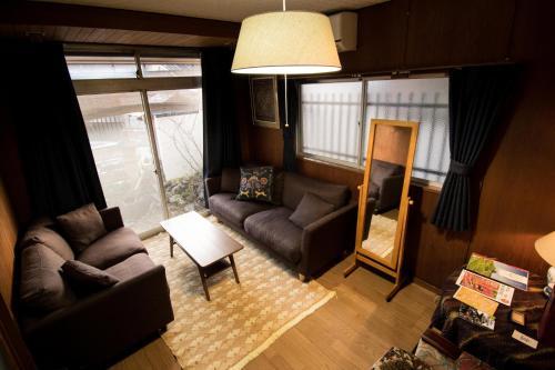 A seating area at Jizo House