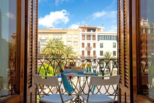 Un balcón o terraza de Singular Stays Plaza de la Reina