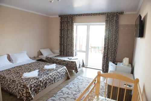 Кровать или кровати в номере Guest House Dolce Vita