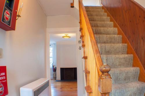 The lobby or reception area at Hawthorn House