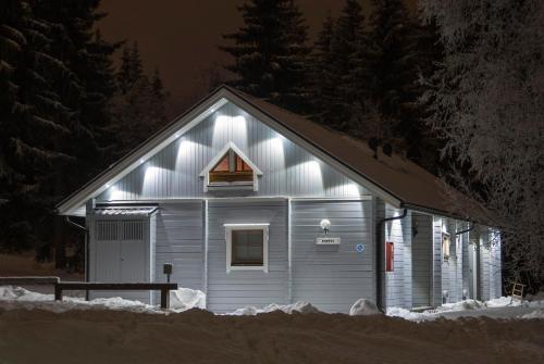 Vuokatinmaa Holiday Apartments during the winter