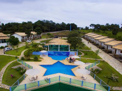Vista de la piscina de Pousada Luna Zen o alrededores