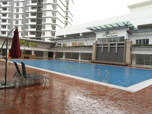 The swimming pool at or near Penaga Condominium
