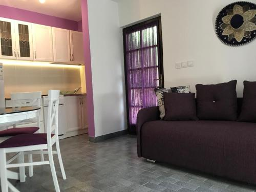 A seating area at Apartmani Novakovic