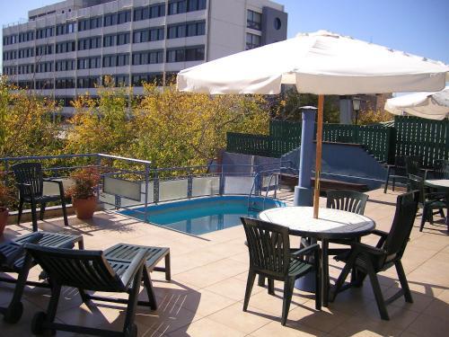 The swimming pool at or near Apart San Lorenzo